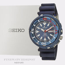 Authentic Seiko Padi Tuna Automatic Prospex Blue Special Edition Watch SRPA83