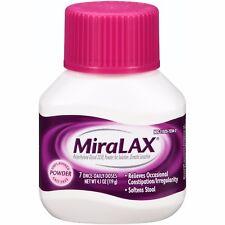 MiraLAX Powder Laxative, 4.1 oz. 7 Dose