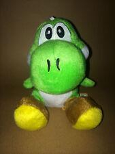 Super Mario Plush Teddy - Yoshi Soft Toy - size 19cm NEW & Tagged