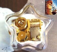 Star Shape Wind Up Music Box : Can You Feel The Love Tonight