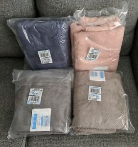 2PC JcPenny Home 100% Cotton Quick-Dri Absorbent Soft Bath Towels Set *Choose*