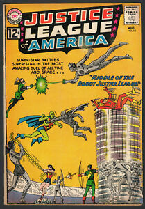1962 DC Justice League of America #13 Riddle of Robot Justice League Super-Star