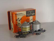 Braunkohlestaub Silowagen  - Märklin HO Wagen 4911   - #626  #E - gebr.