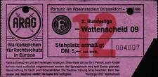 Ticket II. BL 87/88 Fortuna Düsseldorf - SG Wattenscheid 09, Stehplatz ermäßigt