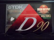 TDK D90 Cassette (sealed) NEW