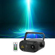 9 GB Gobo Music Remote Laser Stage Lights DJ Gig Party Show Projector Lighting