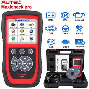 Autel MaxiCheck Pro OBD2 Auto EPB ABS SRS DPF SAS Code Scanner Diagnostic Tool