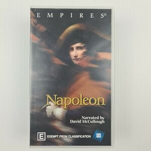 Empires - Napoleon - Narrated by David McCullough 2x VHS Tape Set SBS