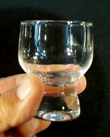 Eight Beautiful Vintage Schnapps Glasses