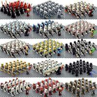 21pcs STAR WARS Clone Army Minifigures 501st Legion Trooper Lot  Moc for Lego