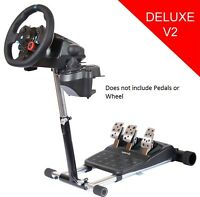 Deluxe Racing Simulator Steering Wheel Stand Pro for Logitech G29 G920 G27 G25