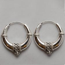 Grob Creolen/Ohrring 925 Silber Celtic Ladies Damen feeanddave