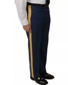 ASU US ARMY NCO OFFICER MEN'S 40L C SERVICE DRESS BLUE UNIFORM PANTS TROUSER NEW