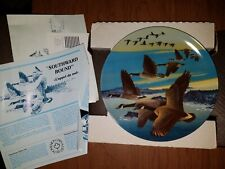 Bradford Exchange Collectors Plate in Box - Wings Upon The Wind: Southward B P7