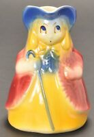 Vintage Shawnee USA Pottery Pitcher Little Bo Peep #47