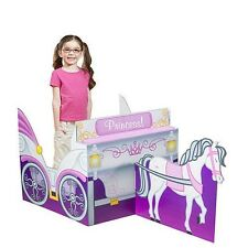 Princess Carriage white royal horse pulling a carriage Photo Stand in