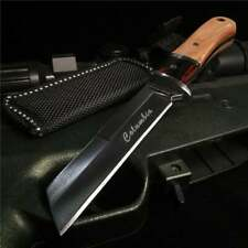 New portable outdoor hunting survival hiking edc pocket camping straight knife