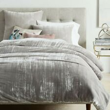 West elm King duvet cover and standard pillowcases