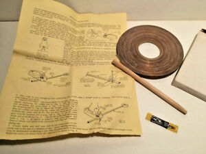 Vintage Strombecker NOS 1/24 Scale Slot Racing Track Maker Kit New in box 90 ft