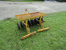 SISIS Multi Slit 1500 Deep Tine Slitter Lawn Aerator 3 pt Hitch 18-25 hp Tractor