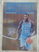 KEVIN DURANT 2010-11 ABSOLUTE MEMORABELIA ICONS CARD #8 177/399