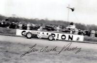 Jean-Claude Rudaz (SUI) Formel 1 Fahrer 1964 Cooper original signiert/signed !!!