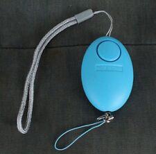 Panikalarm Taschenalarm Schlüsselanhänger Alarm Personenschutz Selbstschutz Blau
