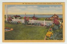 [65831] OLD POSTCARD OCEAN VIEW from LINCOLN ESTATE, CHATHAM, MASSACHUSETTS