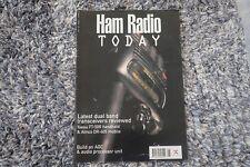 HRT SCANNERS HAM RADIO TODAY MAGAZINE AUGUST 1996 YAESU FT-50R ALINCO DR-605