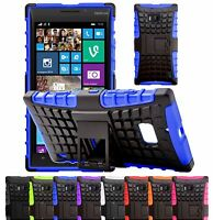 Housse Etui Coque Rigide Anti Choc Armor Support Hybrid Pour Nokia Lumia 930