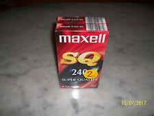2x Maxell VHS E-240 SQ .. Videokassetten Super Quality Cassetten - NEU/OVP
