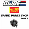 Vtg GI Joe Action Force Figure Spare Parts Accessories Weapons 80s 90s 00s Pt 2