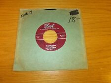 "ROCK & ROLL 45 RPM - NERVOUS NORVUS - DOT 15470 - ""TRANSFUSION"" + ""DIG"""