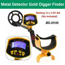 Metal Gold Treasure MD-3010 II Automatic Detector Hunter Finder with LCD Display