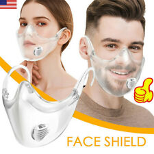 Clear Shield Face Transparent Protective Mask Visor Protection Durable Reusable