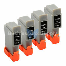 4 BLACK BCI-24 NEW Ink for Canon PIXMA MP130 iP1500 iP2000 MultiPASS MP360 F20