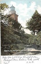 Dunkirk Ny The Light House Udb Postcard c1906