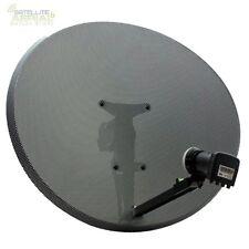 Hotbird 80cm zone 2 satellite dish & mk4 quad lnb + HD kit for freesat sky pvr