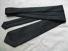 Cravatta NERA SLIM CLASSICO VINTAGE 80S 90S + + molto elegante + +