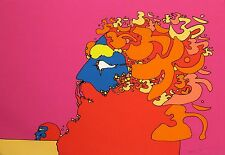 "Peter Max ""Golden Time"" Signed Numbered Artwork Serigraph pop art MAKE AN OFFER!"