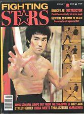 FIGHTING STARS MAGAZINE V 4 # 2 1977 SPRING THE ISLAND OF DR MOREAU BRUCE LEE