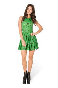 DC Comics The Riddler (Batman) Skater Dress, Cosplay, Size S-4XL UK Seller, BNWT