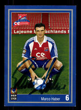 Marco Haber Autograph Card SpVgg Unterhaching 2001-02 Original Signed + A 133701