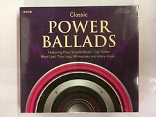 Classic: Power Ballads Cd Cher/Tina T/Meaf Loaf/Thin Lizzy. New Sealed Bw9