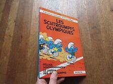 ALBUM BD LES SCHTROUMPFS 11 olympiques peyo eo 1983 dupuis