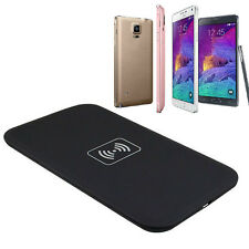 Rápido Cargador Inalámbrico Qi Almohadilla De Carga Para Samsung Galaxy Note 4