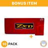 ZEN RYO Full Flavor Red 100s Cigarette Filtered Tubes - 10 Box- & bonus case