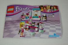 Lego Friends Set 41308 Stephanie's Backstube komplett mit Bauanleitung