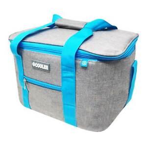 Kühltasche Kühlbox Picknicktasche Camping Isoliertasche Camping 14 Liter Grau
