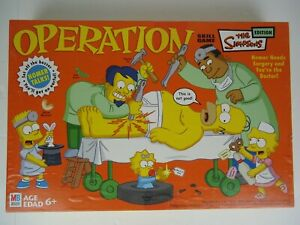 Milton Bradley Operation The Simpsons Edition 2005 - Missing One Piece